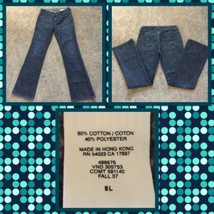 Gap Bootcut Jeans sz. 8L